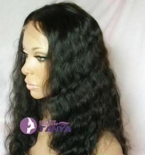 Malaysia Curly Lace Wig  Remy Human Hair Colors and Lengths Options