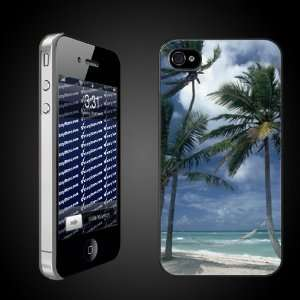 Beach Theme iPhone Case Designs Hammock on the Beach