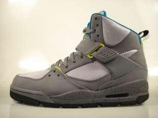 Air Jordan Flight 45 TRK Cool Grey / Lime 467927 027 Mens Boot