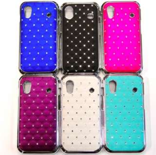 Samsung Galaxy ACE S5830 CHROM LOOK + STraSS BlinG COVER hard CASE