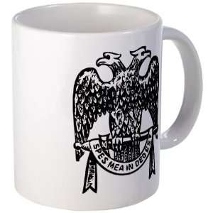 Double Headed Eagle Masonic Mug by CafePress: Kitchen