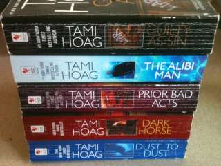 All Tami Hoag Mystery Suspense Novels The Alibi Man and More