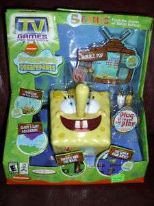 SpongeBob Squarepants Nickelodeon TV Video Game MIB 03