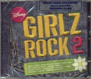 DISNEY GIRLZ ROCK VOL 2 CD SELENA GOMEZ MILEY CYRUS