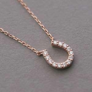 SWAROVSKI NECKLACE   925 sterling silver jewelry Rose Gold Vermeil