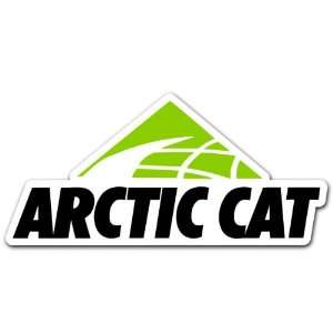 Arctic Cat Snowmobile Racing Car Bumper Sticker 6x3