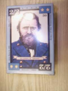DIXIE AMERICAN CIVIL WAR TRADING CARD GAME DECK SHILOH