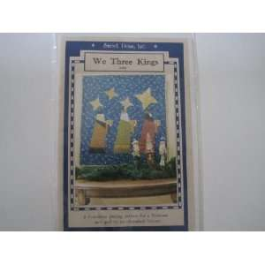 We Three Kings Wall Quilt Pattern: Kim Halvorson: Books