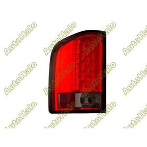 2007+ / 07+ CHEVY SILVERADO EURO ALTEZZA TAIL LIGHTS   RED