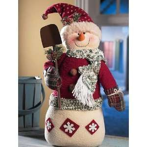 Prim Snowman Christmas Winter Decor