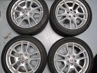 Four 09 11 Nissan Maxima Factory 18 Wheels Tires Altima OEM Rims 62511