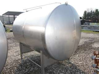 1800 GALLON USED STAINLESS STEEL BREWERY TANK