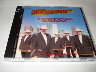 LOS HURACANES DEL NORTE NORTENO 2000 2 CDS USADOS BOX SET EL PERRO DE