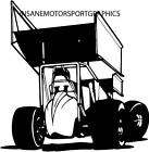 Mini Sprint / Sprint Car Vinyl Graphic Decal