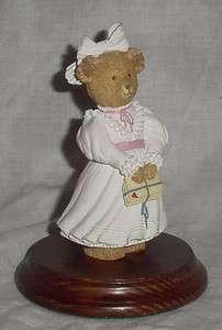 Dept 56 Upstairs Downstairs Bears   KITTY BOSWORTH   Figurine