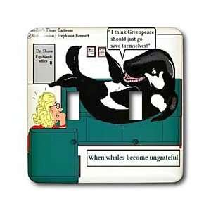 Londons Times Funny Medicine Cartoons   Ungrateful Whale