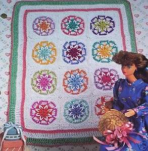 Annies Fashion Doll Old Fashioned Quilt Crochet Pattern