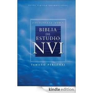 Editorial Vida Biblia de estudio NVI (Spanish Edition): Zondervan