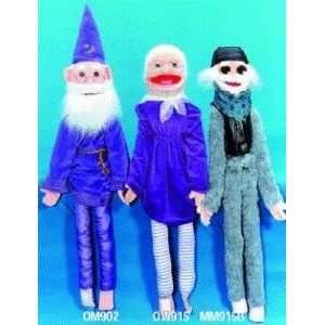 Senior Citizen Wizard Wrap Around Puppet: Toys & Games