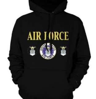 United States Air Force Seal Emblem US Armed Forces Hoodie Sweatshirt