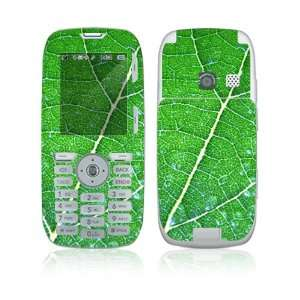 LG Rumor Skin Decal Sticker   Green Leaf Texture