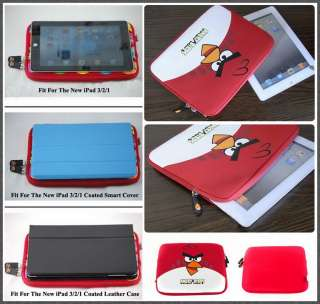 BIRDS Soft Sleeve Case Pouch Cover 4 iPad 1/2(HQCute Bag)