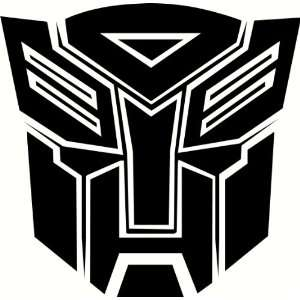 Autobots Logo (Car Tattoo, Sticker, Decal, Graphic) GRY