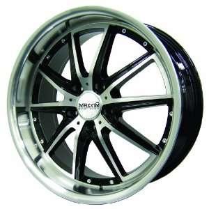 17x7 Maxxim Rodeo (Black / Machined) Wheels/Rims 5x114.3