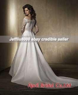 Vintage Lacework Bridal Wedding Dress/Gown~Size2 28~NWT