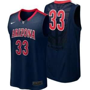 Arizona Wildcats Nike Navy Replica Basketball Jersey
