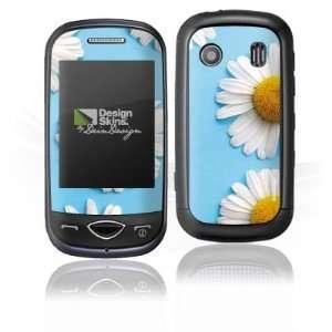 Design Skins for Samsung B3410   Daisies Design Folie