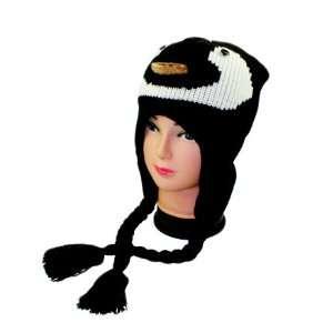 Penguin Animal Hat Plushy Animal Cap Kid Size Toys