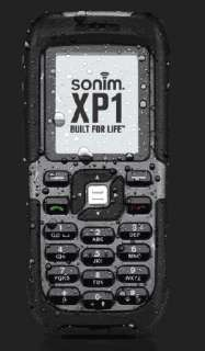 Black Sonim XP 1 Unlocked Rugged Outdoor Cell Phone