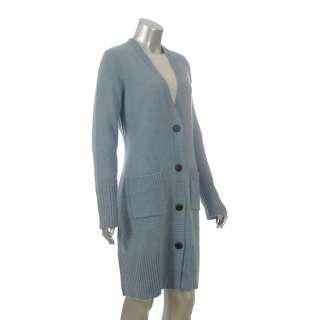 Sutton Studio Womens Cashmere Blend Sweater Coat Tweed