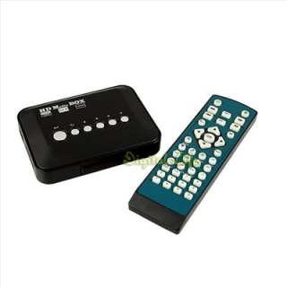 Full HD HDMI 1080P Multi TV Media Player Box USB SD MMC RMVB  AVI