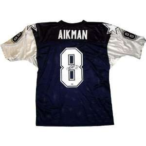 Troy Aikman Dallas Cowboys Double Star Throwback Jersey