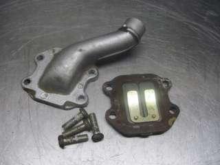Yamaha 1986 PW50 Mini 50 Intake Manifold Pipe & Reeds / Reed Cage
