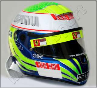 FELIPE MASSA 2008 F1 FRENCH GP REPLICA HELMET SCALE 11