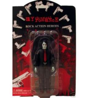 MY CHEMICAL ROMANCE Rare ZOMBIE FIGURE SET OF 5