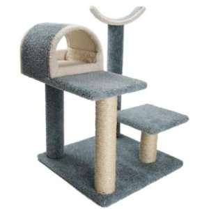 Luxury Cat House with Tall Kitty Cradle Perch  Color