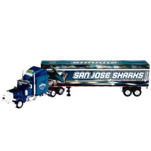 NHL 2007 Semi Diecast Tractor Trailer Truck 1/80 Scale by Upperdeck
