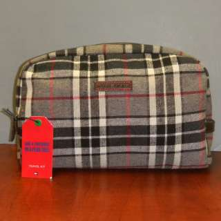 TOMMY HILFIGER MSRP $50 TRAVEL KIT COSMETIC BAG TOTE LOGO MENS WOMENS
