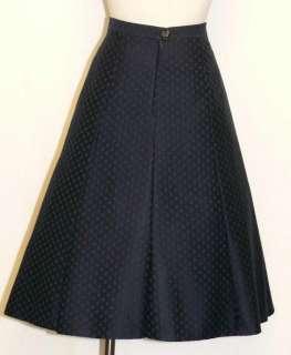 BLUE & GREEN ~ WOOL German Austria Women Straight A LINE Dress Suit