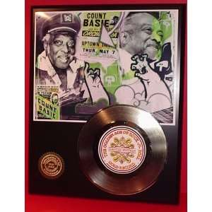COUNT BASSIE GOLD RECORD LIMITED EDITION DISPLAY