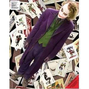 Wall Graphix: Batman Dark Knight   The Joker Cards 23 x 29