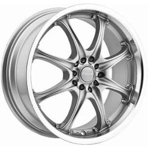 Panther Odessa 17x7 Silver Wheel / Rim 4x100 & 4x4.25 with