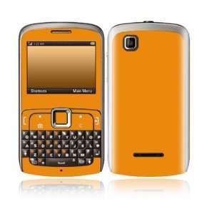 Simply Orange Design Decorative Skin Cover Decal Sticker for Motorola