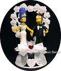 items in Wedding Cake Toppers Top Custom Homer Marge Simpsons store on