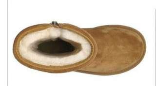 Ugg Australia Womens Roslynn Suede Boots 1889 Chesnut Size 8 EU 39 NIB