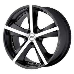 American Racing Phantom 18x8 Black Wheel / Rim 5x120 with